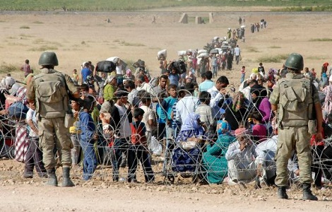 turkey border syrian refugees