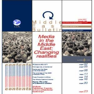 Media in the Middle East: Changing Realities | Middle East Bulletin 6